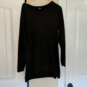 Old Navy active tunic sweatshirt, French terry